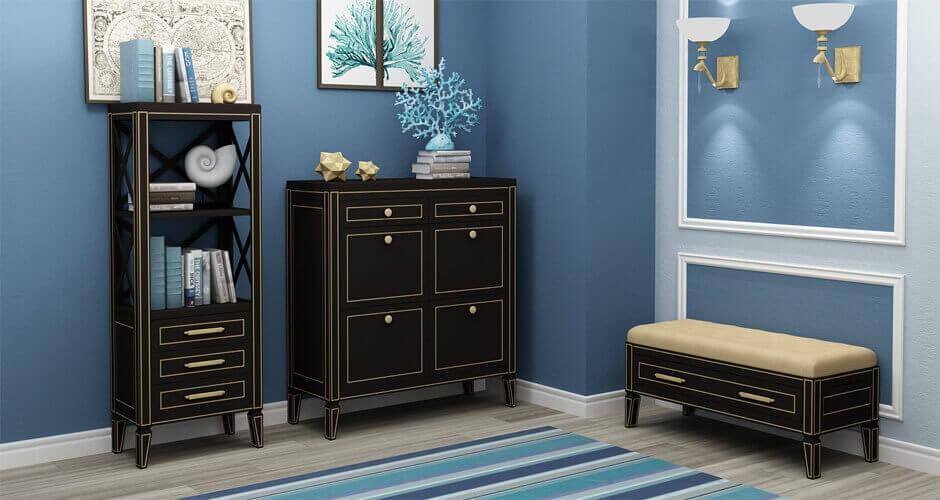 Мебель в прихожую в классическом стиле
